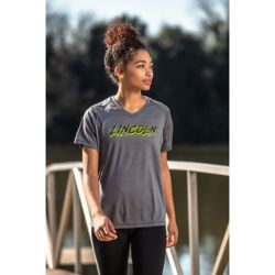 222763 Ladies' Holloway Converge Wicking Shirt Thumbnail